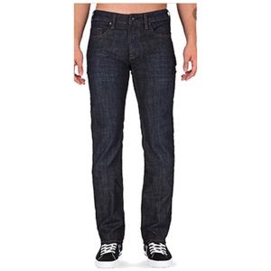 NWT Buffalo Stretch Straight Leg Dark Wash Jeans